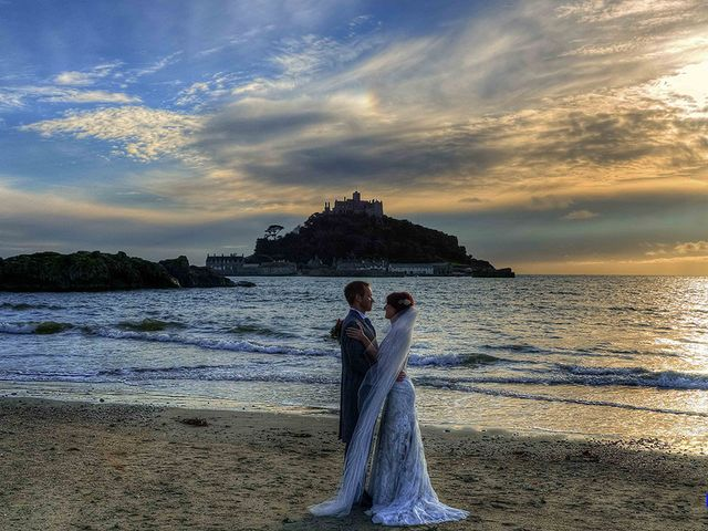 Paul and Rhianne's Wedding in Carbis Bay, Cornwall 1