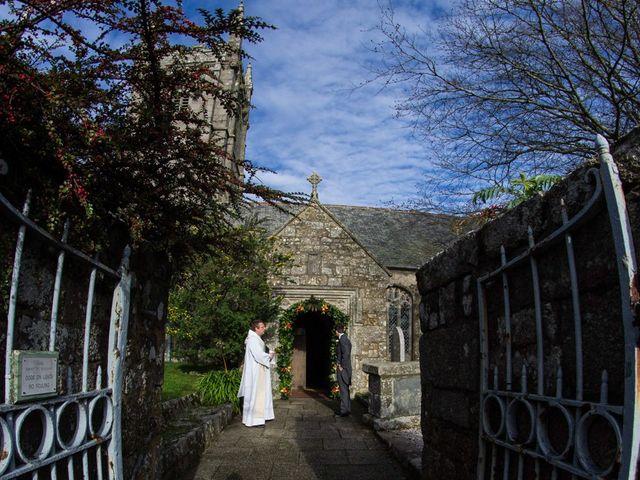Paul and Rhianne's Wedding in Carbis Bay, Cornwall 6