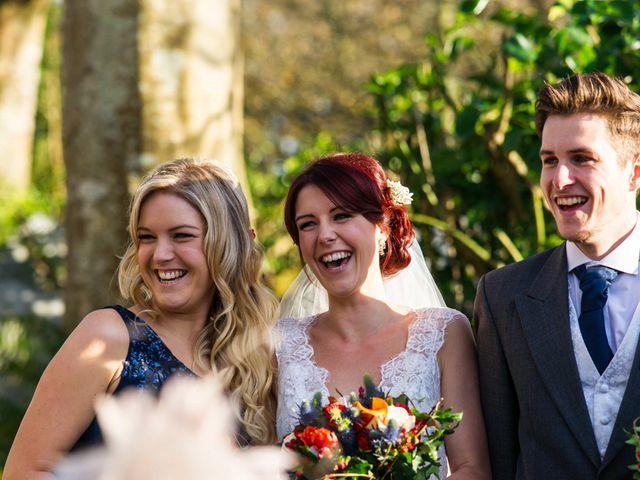Paul and Rhianne's Wedding in Carbis Bay, Cornwall 14