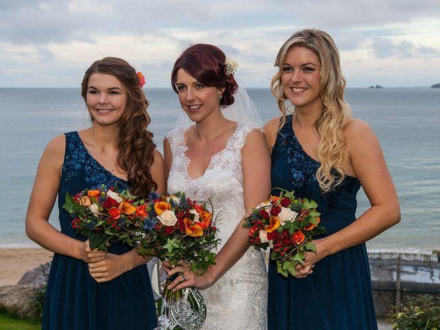 Paul and Rhianne's Wedding in Carbis Bay, Cornwall 13