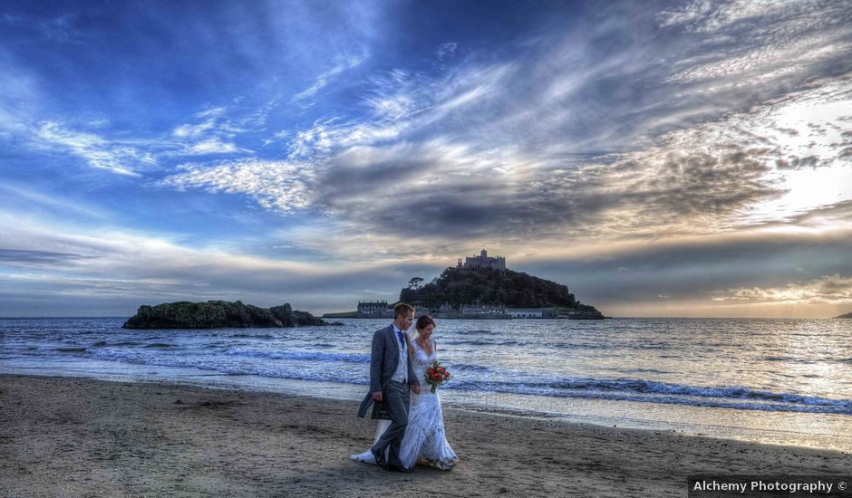 Paul and Rhianne's Wedding in Carbis Bay, Cornwall