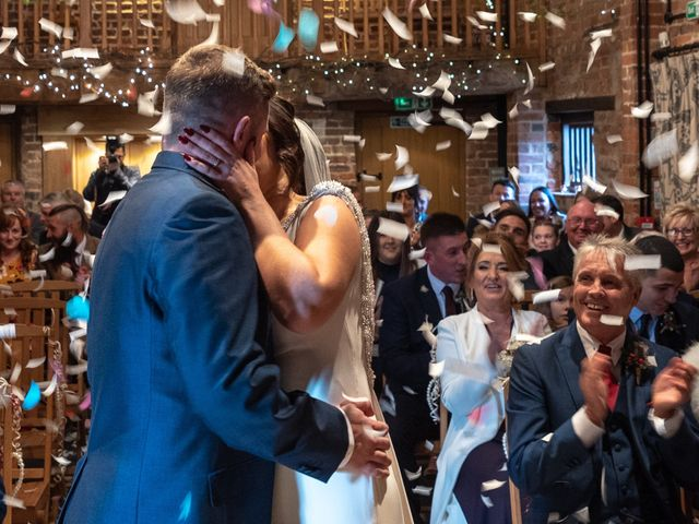 David and Hannah's Wedding in Shrawley, Worcestershire 1
