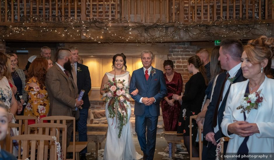 David and Hannah's Wedding in Shrawley, Worcestershire