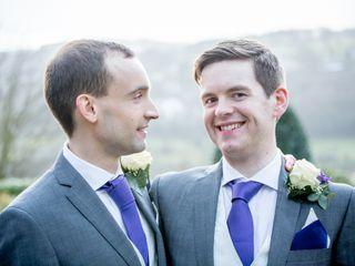 John & Iain's wedding