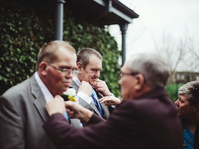 Laura and Chris's Wedding in Wigan, Lancashire 5
