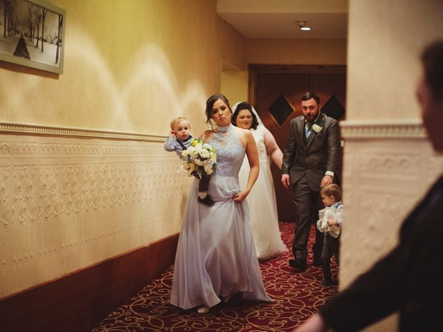 Laura and Chris's Wedding in Wigan, Lancashire 6