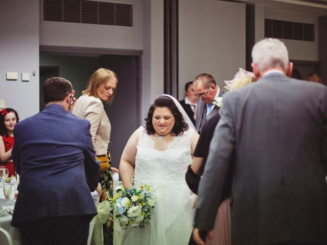 Laura and Chris's Wedding in Wigan, Lancashire 34