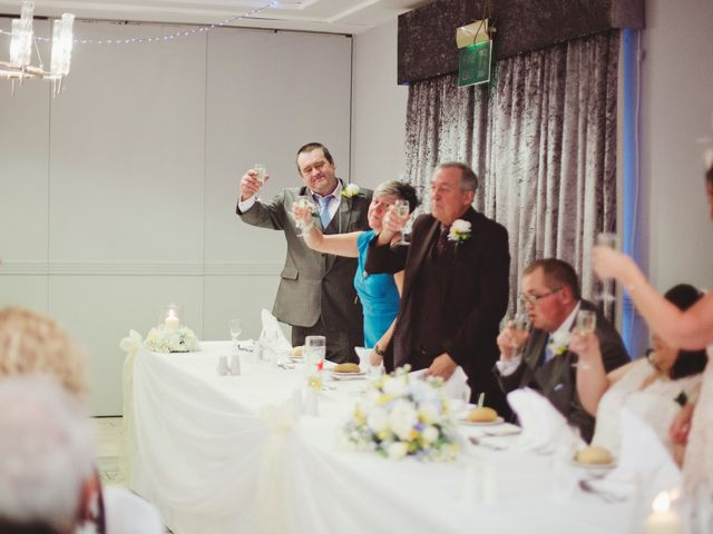 Laura and Chris's Wedding in Wigan, Lancashire 44