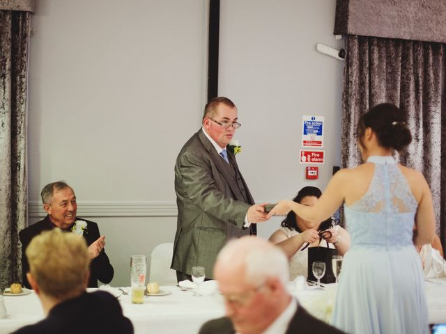 Laura and Chris's Wedding in Wigan, Lancashire 47