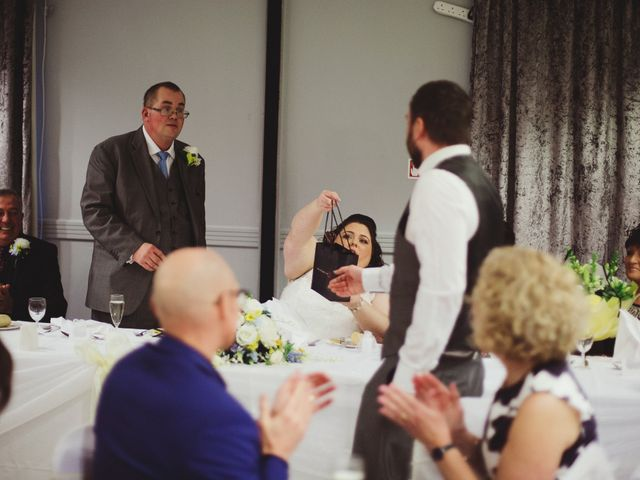 Laura and Chris's Wedding in Wigan, Lancashire 48