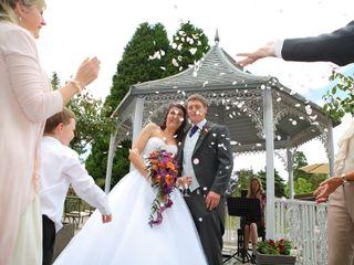 Justine & Eifion's wedding