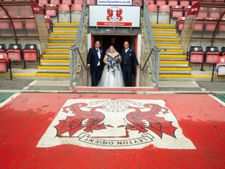 Kelly & Darren's wedding