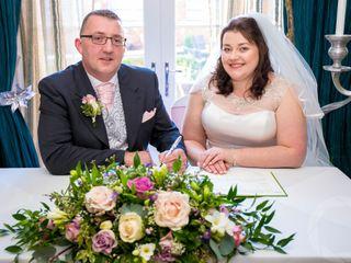 Claire & David's wedding