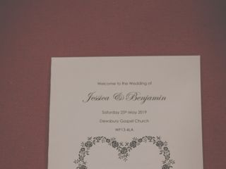 Jess & Ben's wedding 1