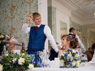 Sarah & Iain's wedding