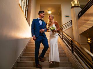 Deirdre & Ben's wedding 1