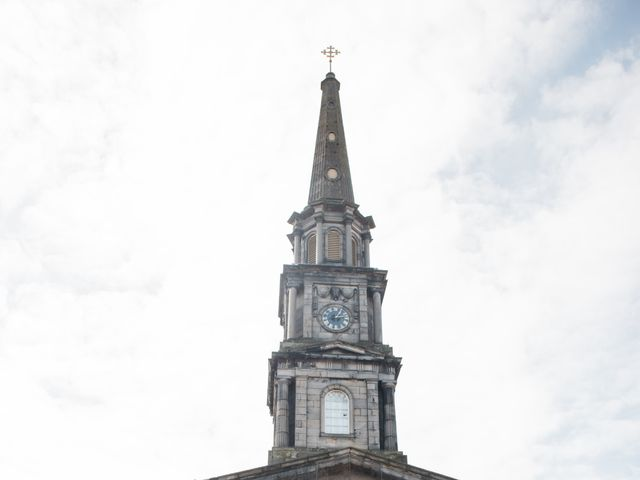 David and Billie's Wedding in Edinburgh, Lothian & Borders 17