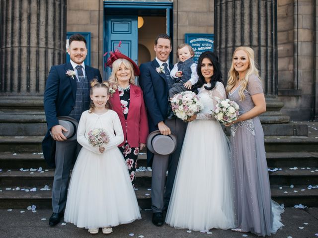 David and Billie's Wedding in Edinburgh, Lothian & Borders 35