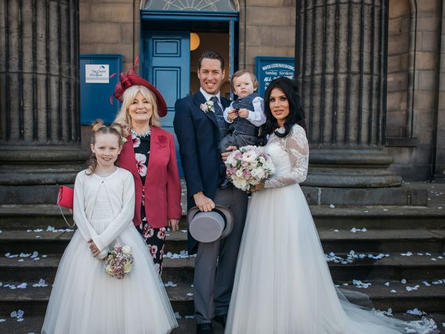 David and Billie's Wedding in Edinburgh, Lothian & Borders 36