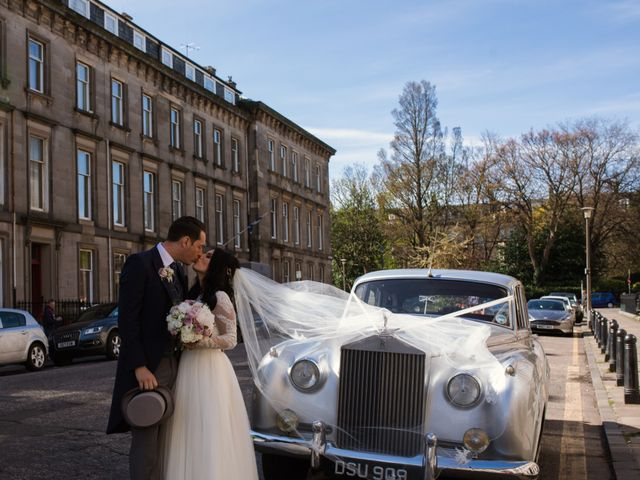 David and Billie's Wedding in Edinburgh, Lothian & Borders 45