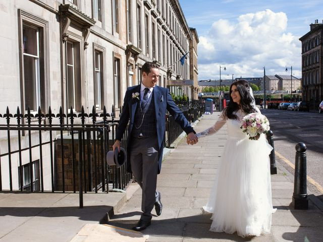 David and Billie's Wedding in Edinburgh, Lothian & Borders 46
