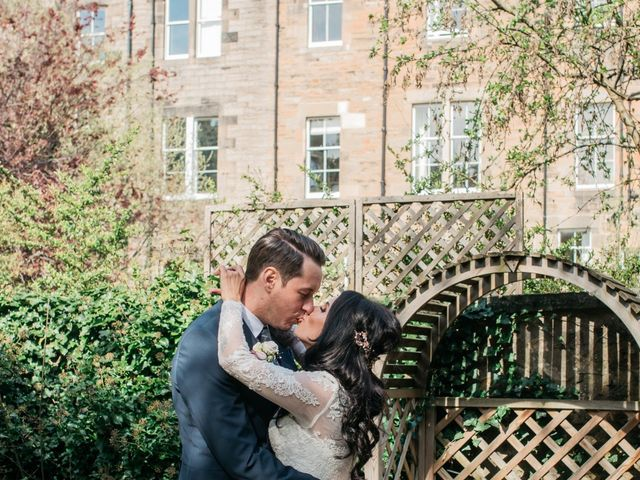 David and Billie's Wedding in Edinburgh, Lothian & Borders 52