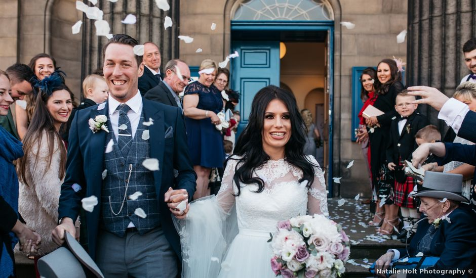 David and Billie's Wedding in Edinburgh, Lothian & Borders