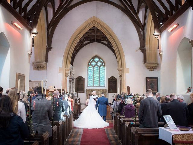 Ross and Amie's Wedding in Malvern, Worcestershire 4