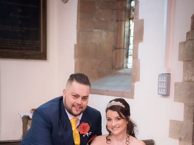 Ross and Amie's Wedding in Malvern, Worcestershire 6