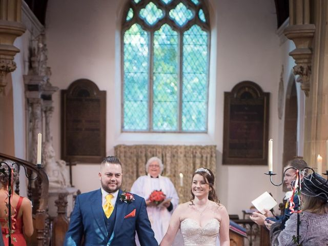 Ross and Amie's Wedding in Malvern, Worcestershire 7