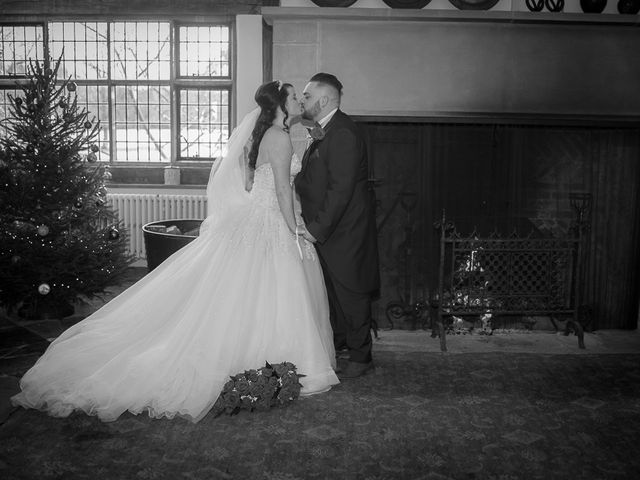 Ross and Amie's Wedding in Malvern, Worcestershire 10