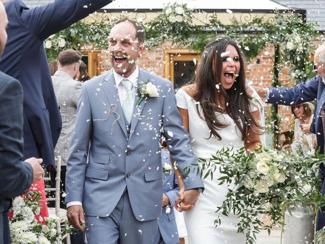 Caroline & Tristan's wedding