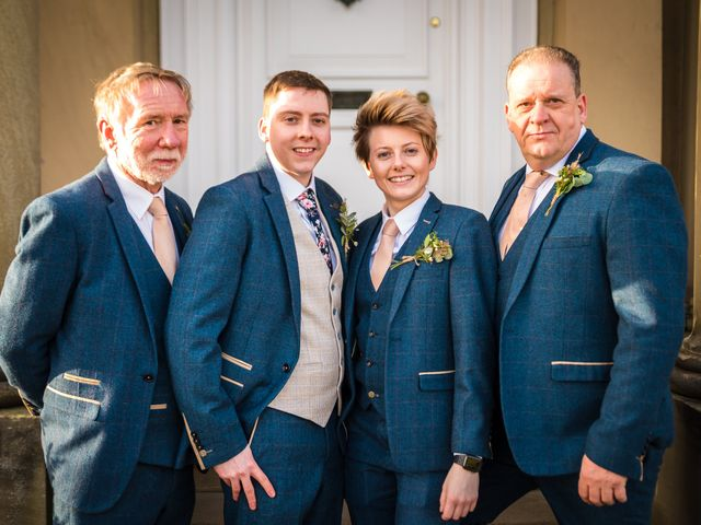 Chris and Sophie's Wedding in Iscoyd Park, Cheshire 14