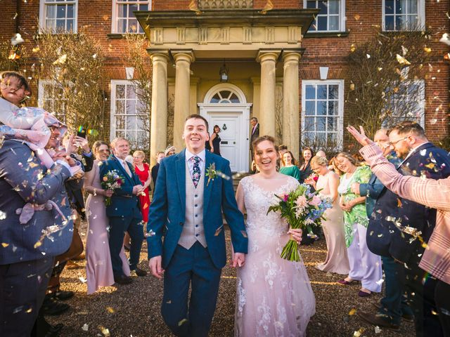 Chris and Sophie's Wedding in Iscoyd Park, Cheshire 15