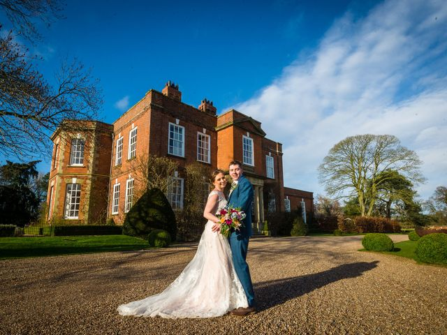 Chris and Sophie's Wedding in Iscoyd Park, Cheshire 16