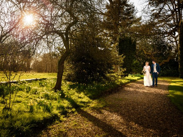 Chris and Sophie's Wedding in Iscoyd Park, Cheshire 17