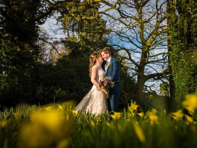 Chris and Sophie's Wedding in Iscoyd Park, Cheshire 18