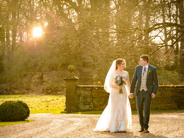 Chris and Sophie's Wedding in Iscoyd Park, Cheshire 2