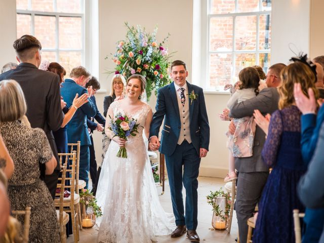 Chris and Sophie's Wedding in Iscoyd Park, Cheshire 32