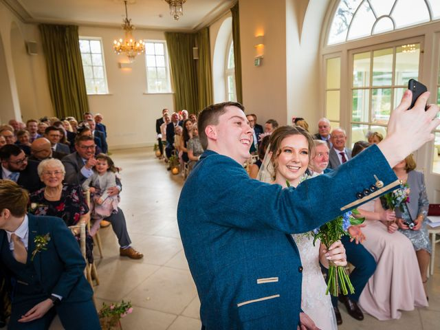 Chris and Sophie's Wedding in Iscoyd Park, Cheshire 33