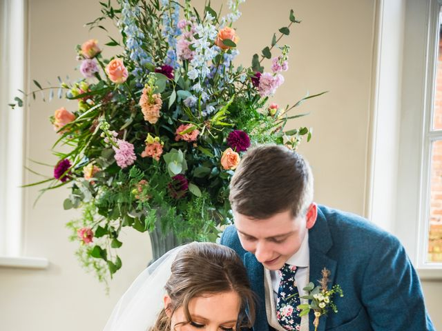 Chris and Sophie's Wedding in Iscoyd Park, Cheshire 34