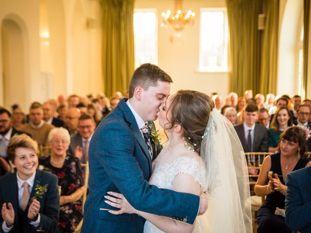 Chris and Sophie's Wedding in Iscoyd Park, Cheshire 35