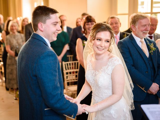 Chris and Sophie's Wedding in Iscoyd Park, Cheshire 36