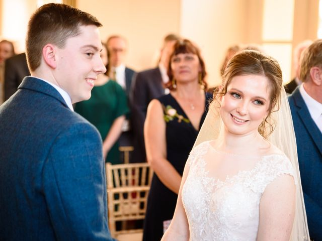 Chris and Sophie's Wedding in Iscoyd Park, Cheshire 38
