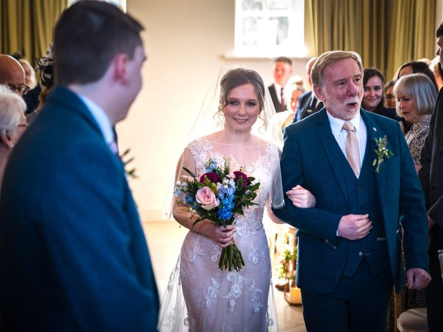 Chris and Sophie's Wedding in Iscoyd Park, Cheshire 39
