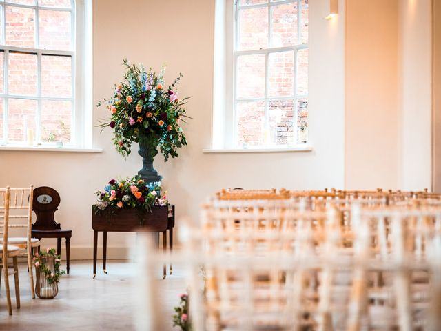 Chris and Sophie's Wedding in Iscoyd Park, Cheshire 41
