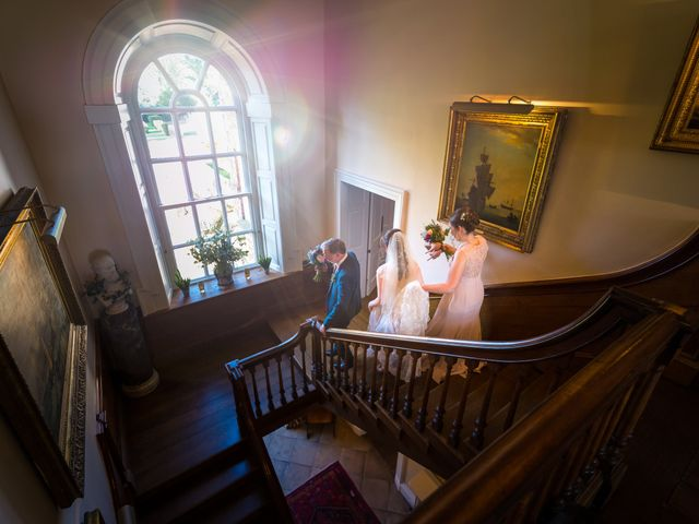 Chris and Sophie's Wedding in Iscoyd Park, Cheshire 42