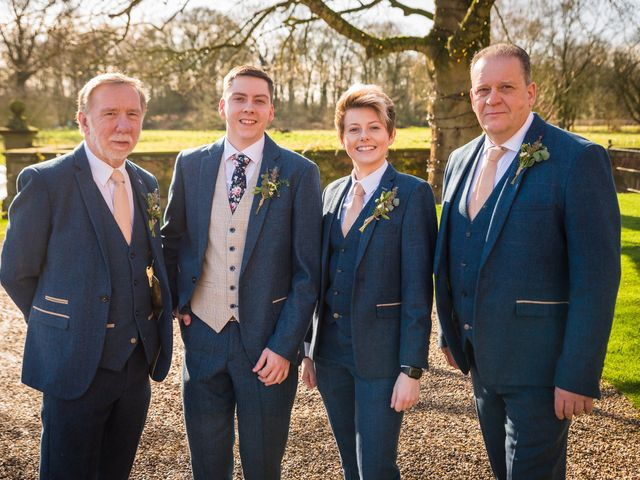 Chris and Sophie's Wedding in Iscoyd Park, Cheshire 44