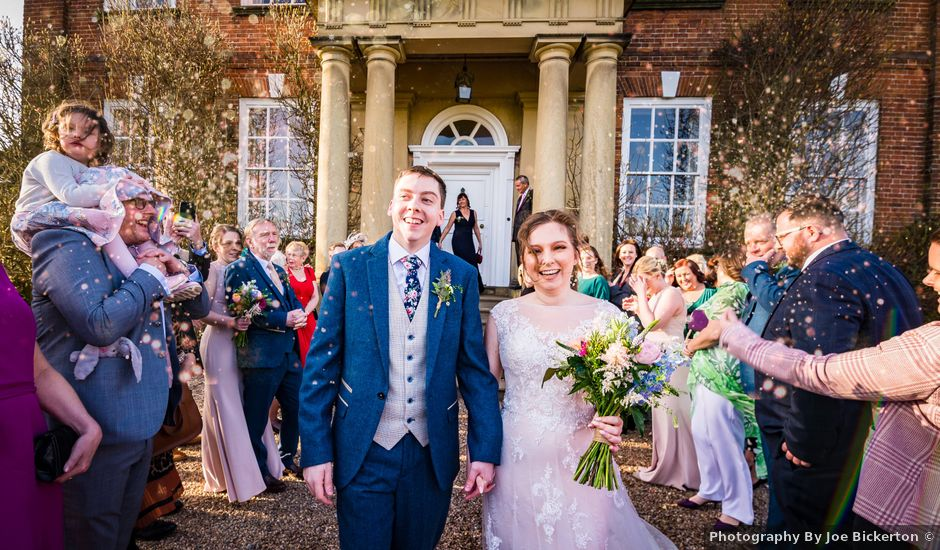 Chris and Sophie's Wedding in Iscoyd Park, Cheshire