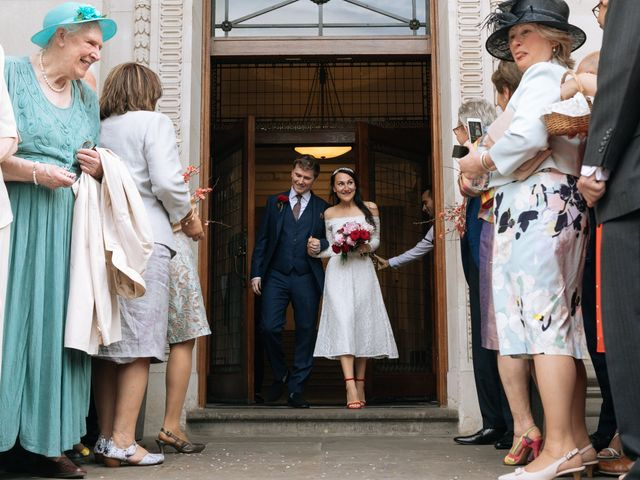 Gabrielle and Charlie's Wedding in London - West, West London 10